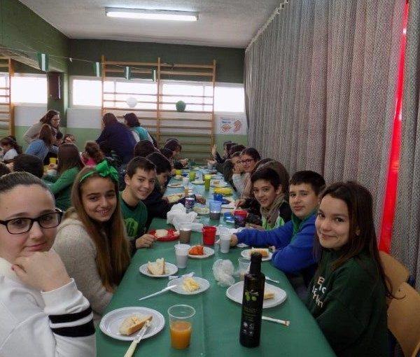 El día de Andalucía en el Serafina
