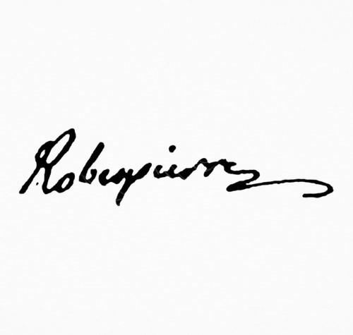 Biografías de Robespierre